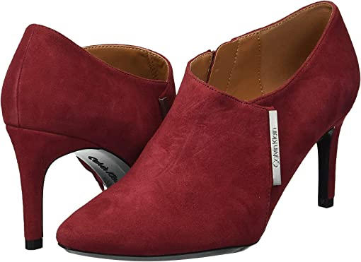 Red Rock Leather Suede