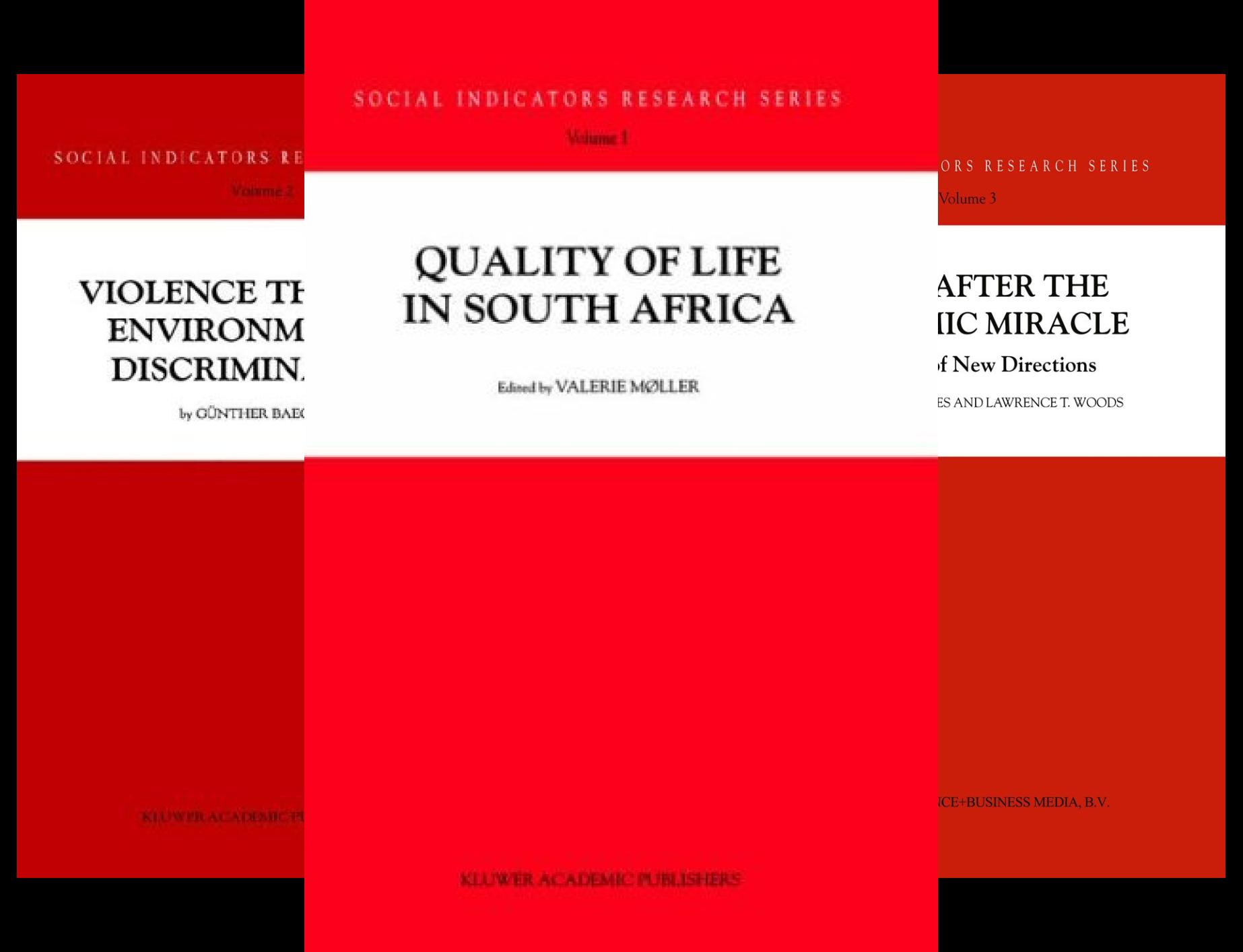Social Indicators Research (36 Book Series)