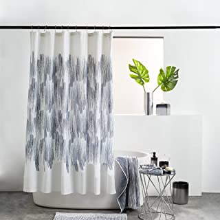 DKNY Brushstroke Ombre Bath Collection Shower Curtain, 72