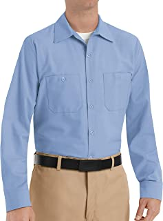 Sponsored Ad - Red Kap Men's Industrial Long Sleeve Work Shirt