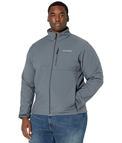 Columbia Big Tall Ascendertm Softshell Jacket (Graphite) Men