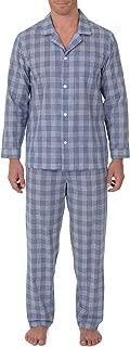 Men's Broadcloth Long Sleeve Pajama Set