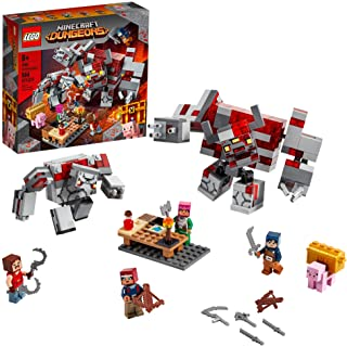 Best LEGO Minecraft The Redstone Battle 21163 Cool Minecraft Set for Kids Aged 8 and Up, Great Birthday Gift for Minecraft Players and Fans of Monsters, Dungeons and Battle Action, New 2020 (504 Pieces) Review