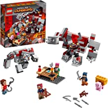 LEGO Minecraft The Redstone Battle 21163 Cool Minecraft Set for Kids Aged 8 and Up, Great Birthday Gift for Minecraft Play...