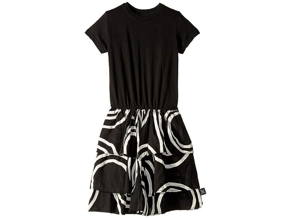 Nununu Layered Circle Dress (Little Kids/Big Kids) (Black) Girl