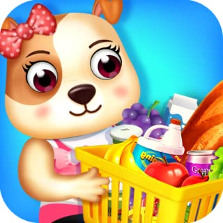 Shopping Mall Supermarket Fun - Show Mum that you are a good child by helping her find the groceries in the store!