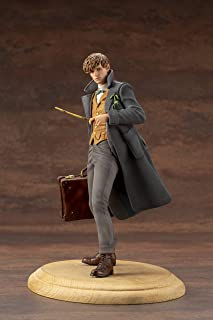 Kotobukiya SV229 Fantastic Beasts: The Crimes Of Grindelwald: Newt Scamander Artfx+ Statue, Multicolor