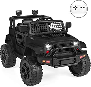 Best Choice Products 12V Kids Ride On Truck Car w/Parent Remote Control, Spring..