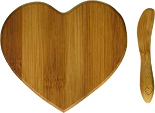 Best heart shaped bamboo cheese board Reviews