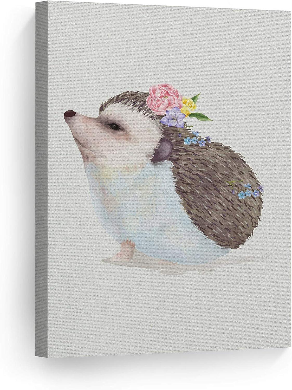 Smile Art Design Cute Atlanta Mall Animals Wall Dec Seasonal Wrap Introduction Watercolor Paint Hedgehog