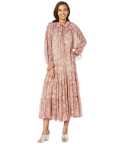 Free People Feeling Groovy Maxi (Red) Women