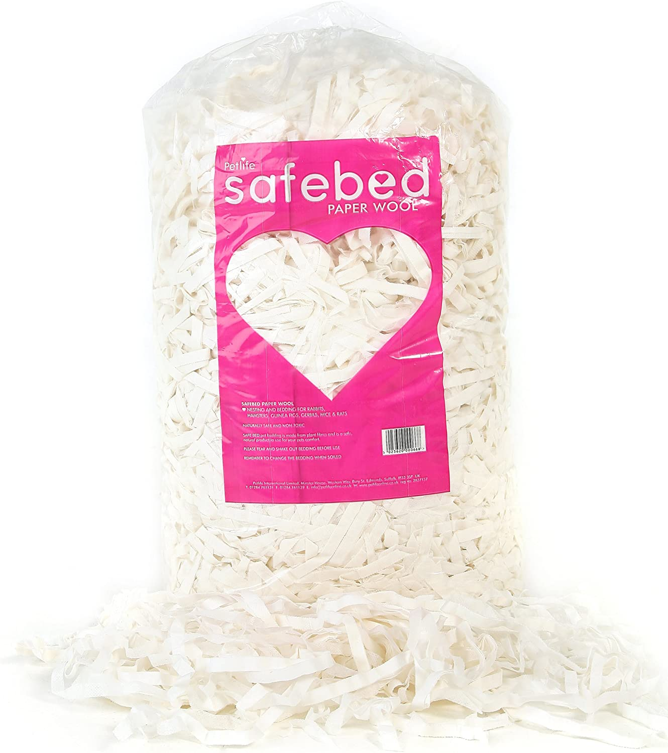 Safebed Paper Wool Petlife Small Animal for Rabbit Fixed price sale OFFicial site Bedding Kg 2