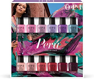 OPI Peru Collection, Nail Lacquar Range, Mini Set of 12
