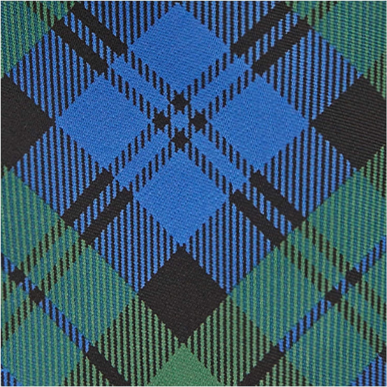 Jacob Alexander Men's Royal Tartans Plaid Extra Long Neck Tie
