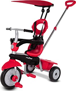 SmarTrike 3190502 Zoom 4 in 1 baby tricycle,Red