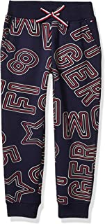 Tommy Hilfiger Girls' Adaptive Knit Jogger Pant with Drawstring Waist