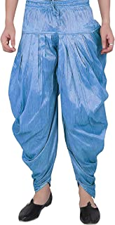 Way2like Patiala Salwar Pants Dupion Silk for Men Handmade Festival Occasion Party Wear