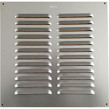 Aluminium Louvre Aération Ventilateur Housse Grille 9 par 3 225 mm par 75 mm Pack 24