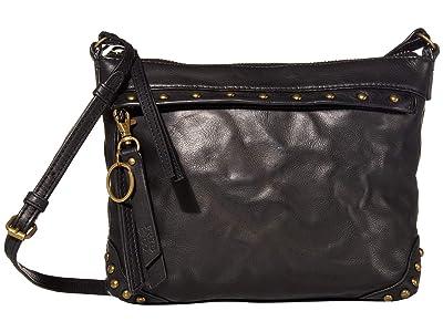 FRYE AND CO. Odessa Crossbody (Black) Cross Body Handbags