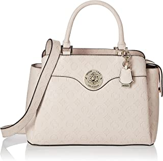 GUESS womens Dayane Triple Compartment Satchel HANDBAGS