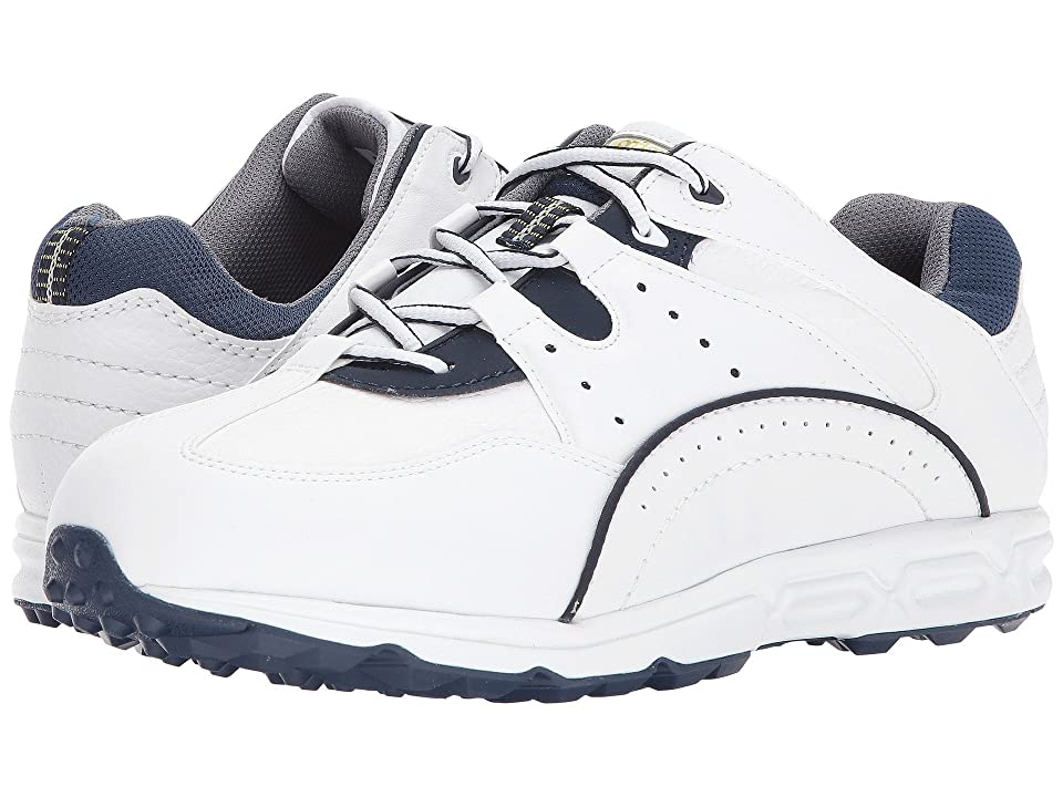 FootJoy Golf Specialty Spikeless Athletic (White/Navy) Men