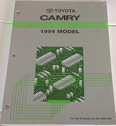 amazon com 1994 toyota camry wiring manual books 89 Toyota Camry Wiring Diagram 1994 Toyota Camry Wiring Diagram #10