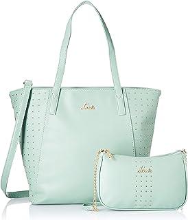 Lavie Altair Women's Handbag with Wallet (Aqua) ALTAIR COMBO PACK 1