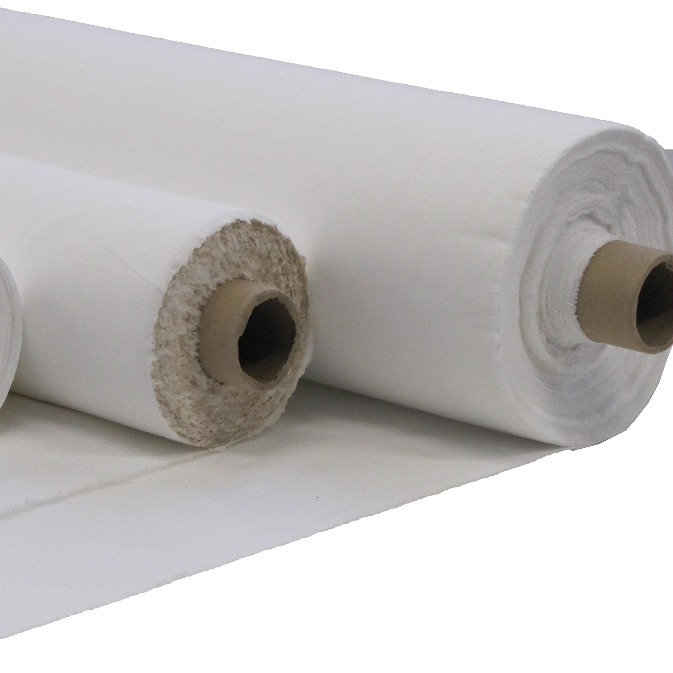 Poly Algodón Premium calidad láminas de cama Plain tela 100