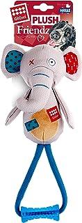 Gigwi Plush Elephant Squeaker with Johnny Stick