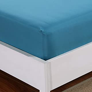 Mohap Fitted Sheet Queen Only Teal Deep Pocket Brushed Microfiber 1800 Durable and Fade Resistant Machine Washable Fits Mattress up to 16 inches