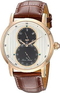 [ルシアン ピカール]Lucien Piccard 腕時計 'Infinity' Quartz Stainless Steel and Leather LP-40044-RG-02S メンズ [並行輸入品]
