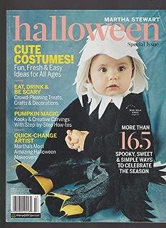 MARTHA STEWART HALLOWEEN MAGAZINE SPECIAL ISSUE COSTUMES!TREATS! TRICKS!2015