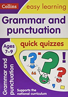Grammar & Punctuation Quick Quizzes Ages 7-9: Ideal for Home Learning