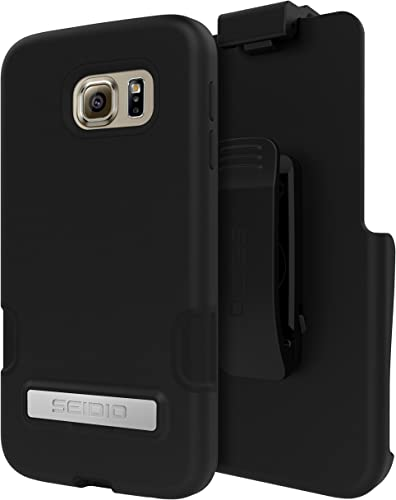 discount Seidio Cell Phone Case for Samsung Galaxy S6 - Retail Packaging popular - wholesale Black online