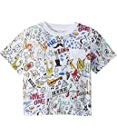 Stella McCartney Kids - Basil All Over Printed Short Sleeve Tee (Toddler/Little Kids/Big Kids)