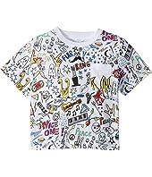 Basil All Over Printed Short Sleeve Tee (Toddler/Little Kids/Big Kids)