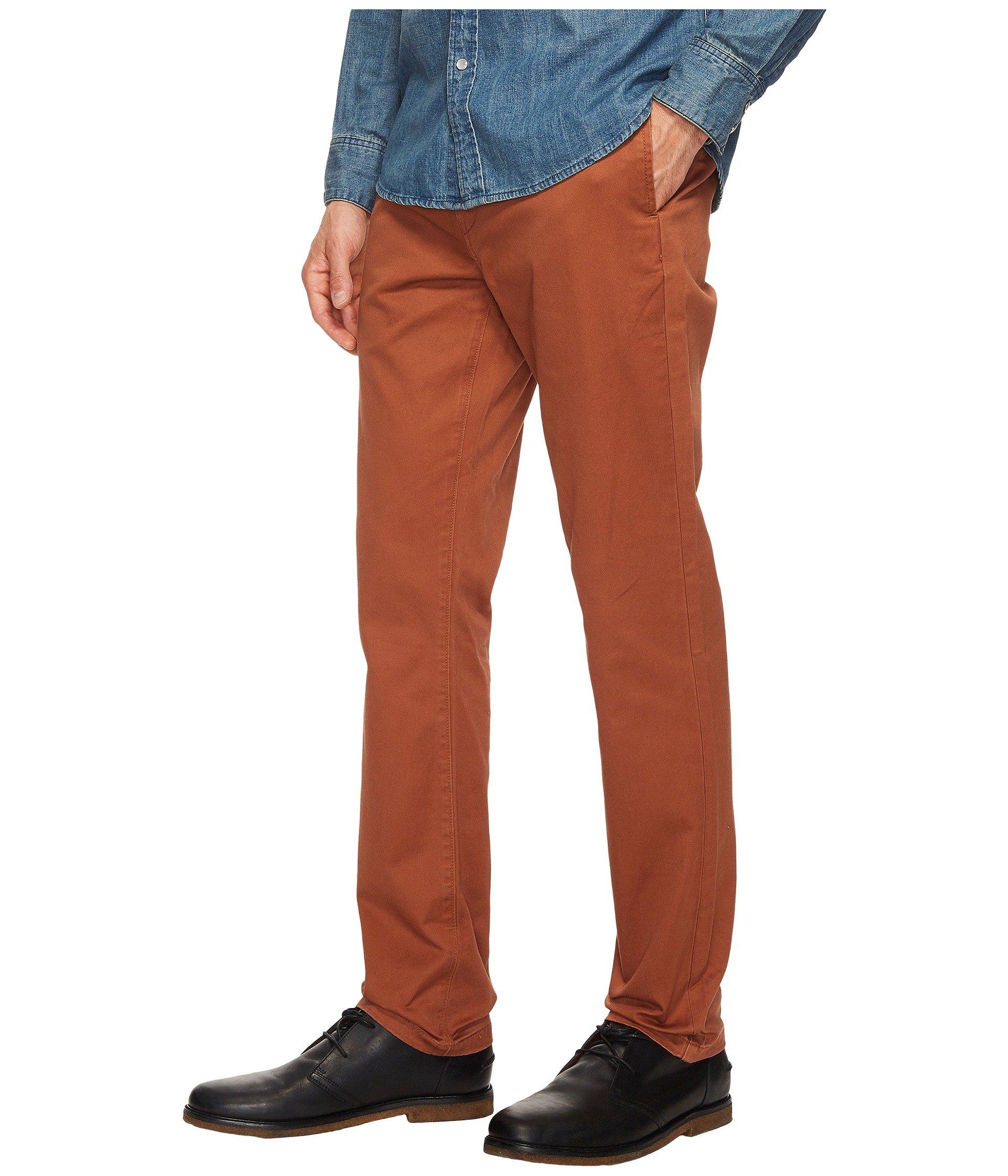 Rich Slim Chino Levi's® Welt Mens 511 Twill Brown Fit cruz EYPxxZqwC