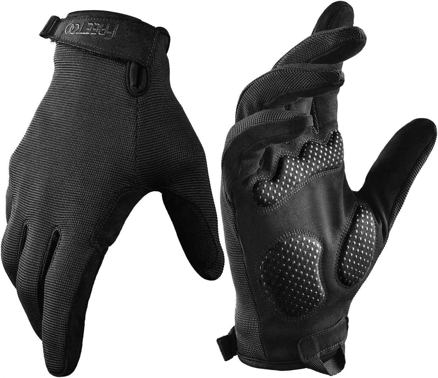 FREETOO Full Finger Workout 5 popular Gloves for Grip Extra Foam San Jose Mall Men P