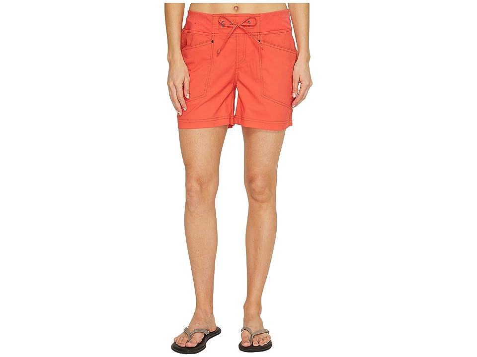 Royal Robbins Jammer Shorts (Dark Coral) Women