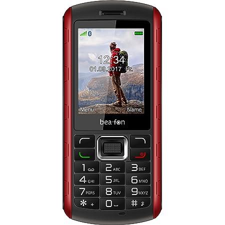 Beafon Outdoor Handy Al560 Schwarz Rot Elektronik