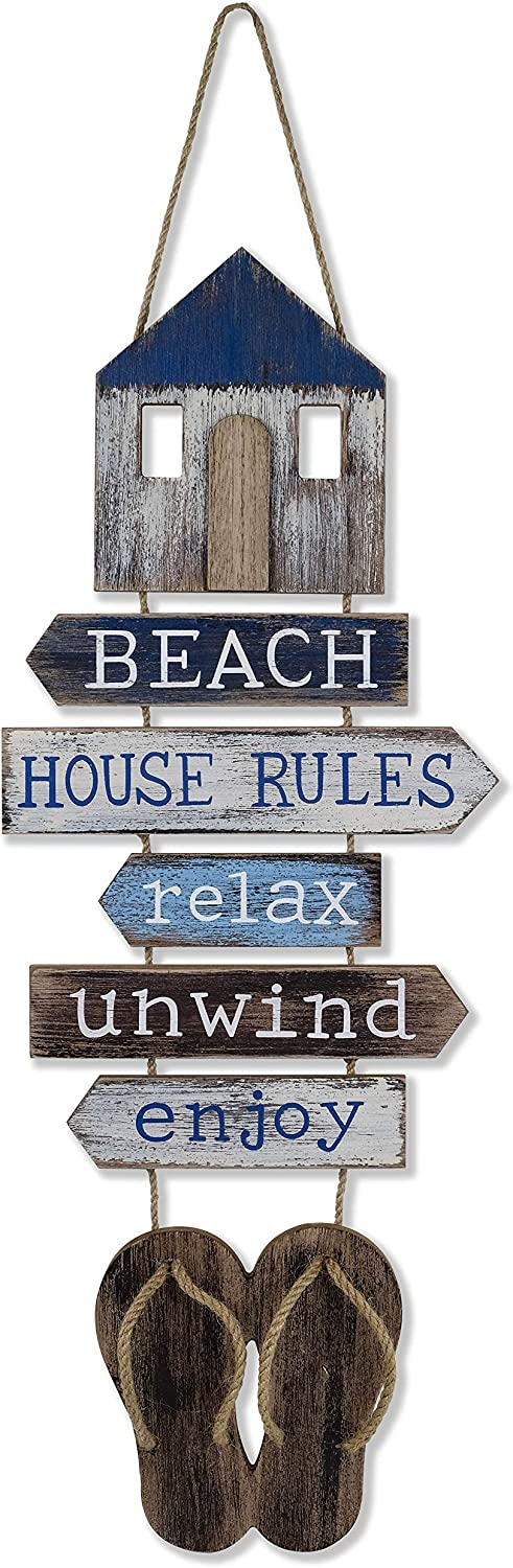 SAILINGSTORY Max 68% OFF Beach Wall Decor Hanging Bat Sign Some reservation