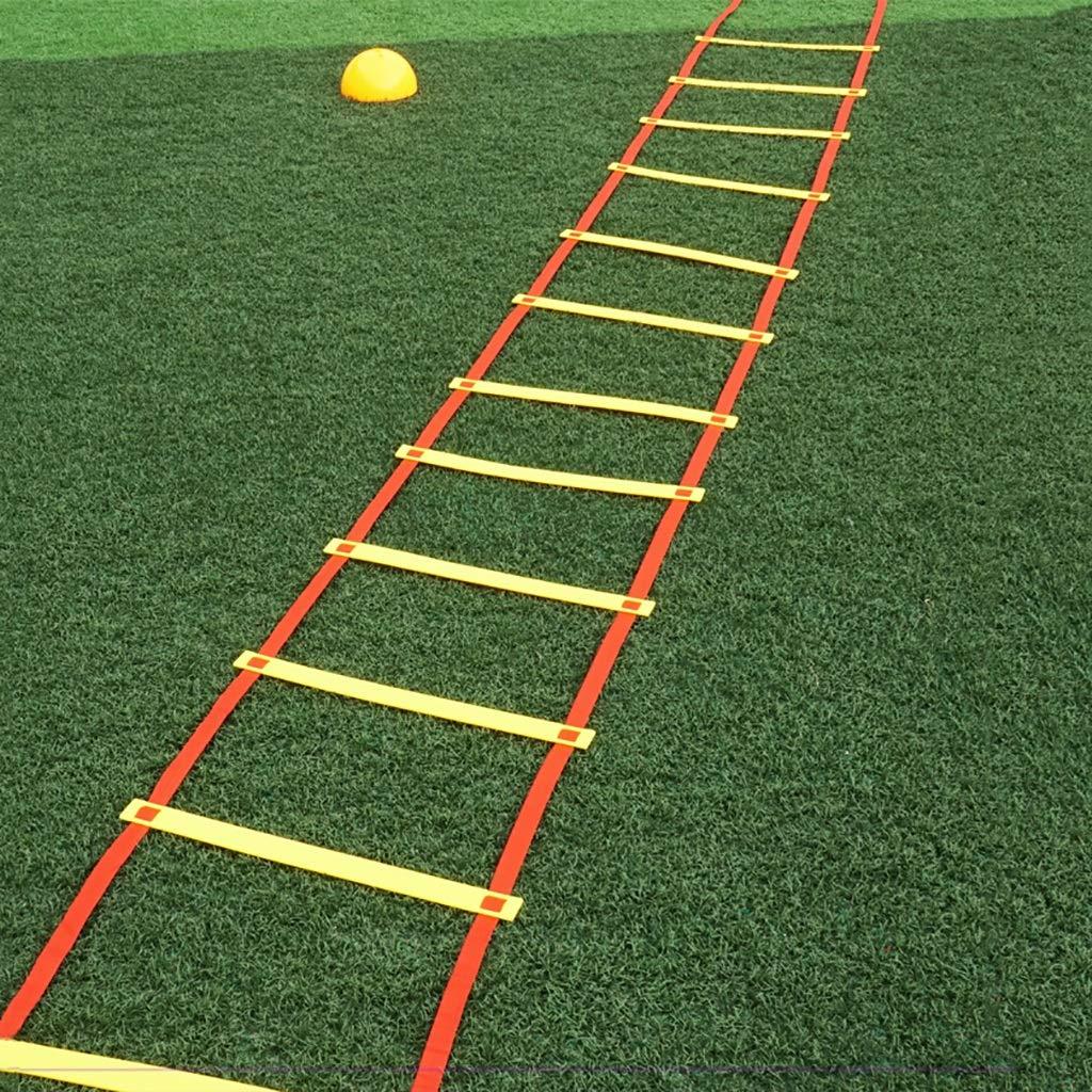 Xin Escalera de Agilidad de 20 Metros y 40 peldaños - Escalera de Agilidad de fútbol de Ejercicio físico: Amazon.es: Deportes y aire libre