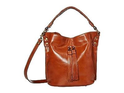 Patricia Nash Otavia Bucket (Tan 1) Handbags