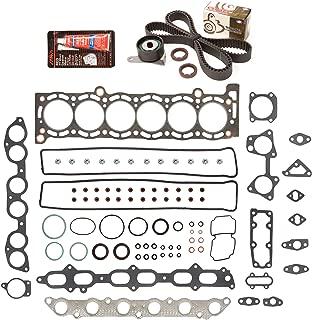 Evergreen HSTBK2023 Head Gasket Set Timing Belt Kit Fits 89-92 Toyota Cressida Supra 3.0 DOHC 24V 7MGE