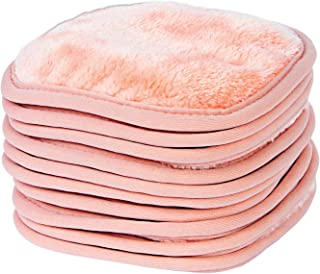 Eurow Beauty Makeup Removal Soft and Gentle Face Cleaning Cloths For All Skin Types 5 X 5 Inches 10 Pack
