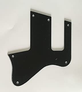 Electric Guitar Pickguard for Les Paul Special Double Cut Style (3 Ply Black)