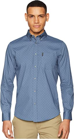 Ben Sherman - Long Sleeve Polka Dot Print Shirt