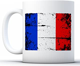 Pekatees France Coffee Mug French Mugs for France Fans France Gifts White 11 oz