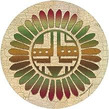 Thirstystone Stoneware Coaster Set, Traditional Sunburst