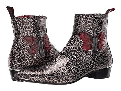 Jeffery-West Butterfly Bullet Zip Boot Sylvian (Leopard) Men